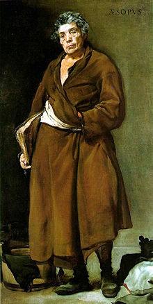 Portrait of Aesop