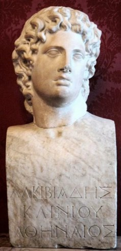 Bust of Alcibiades