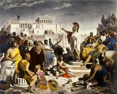 Democracy athens