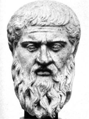 statue plato