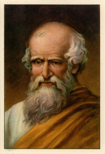 Archimedes painting