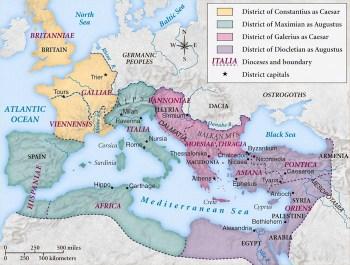 Tetrarchy Map