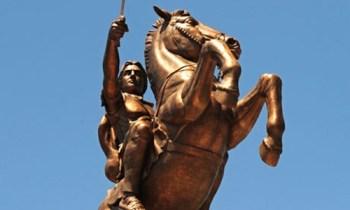 Alexander on a horse