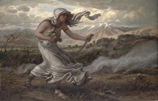 Sibyl of Cumae painting