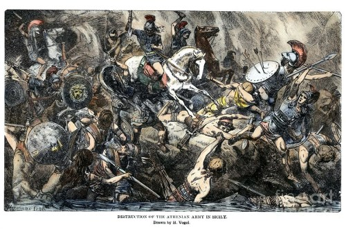 Illustration of the Peloponnesian War