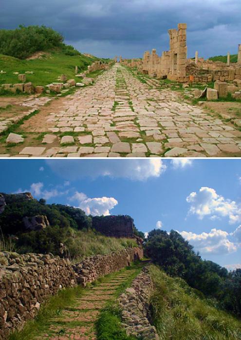 Examples of Roman Roads