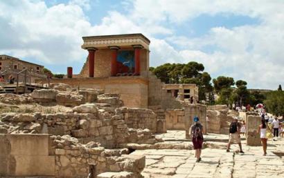 Ruins at Knossos