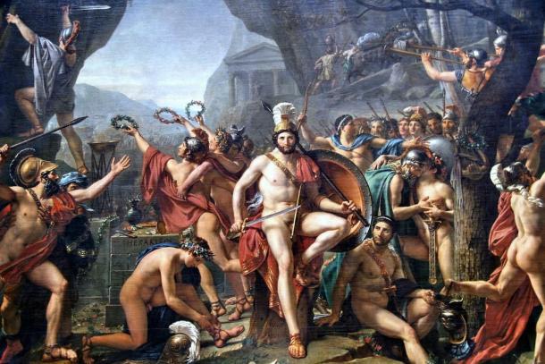 Painting of Leonidas