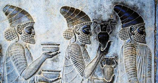 Ancient drinking