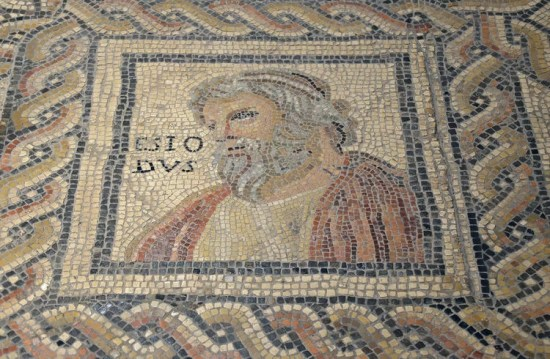 Mosaic of Hesiod