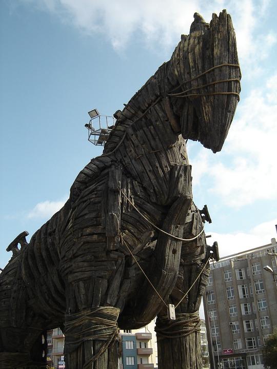 Replica of the Trojan Horse