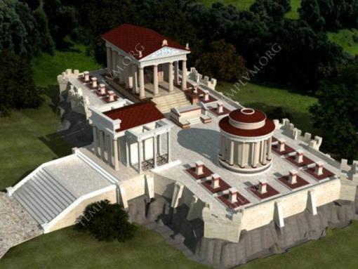 Development of the Roman Temple