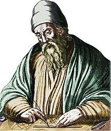 Portrait of Euclid