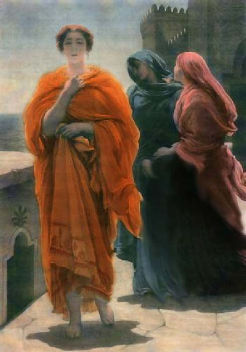 Painting of Helen of Troy