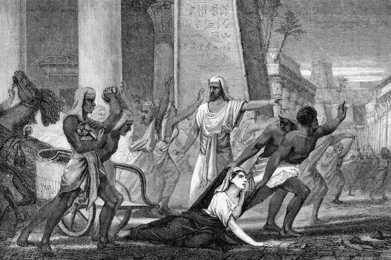 Illustration of Hypatia's murder