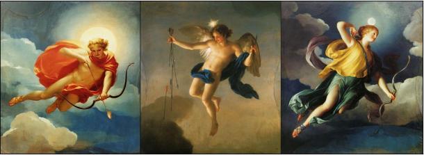 Painting of Greek Deities