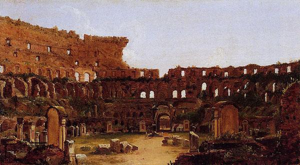 Colosseum's fall