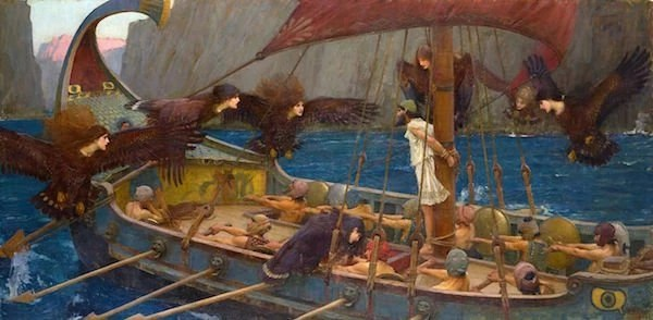 Sirens with Odysseus