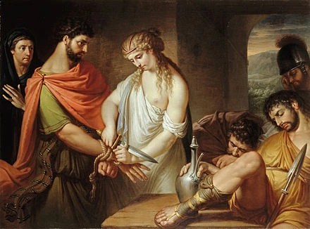 Painting of Aristomenes