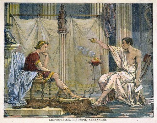 aristotle and alexander
