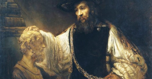 Rembrandt's Aristotle