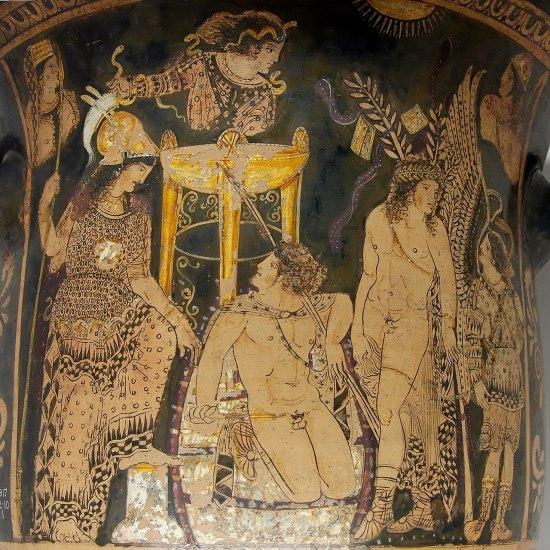 Orestes at Delphi