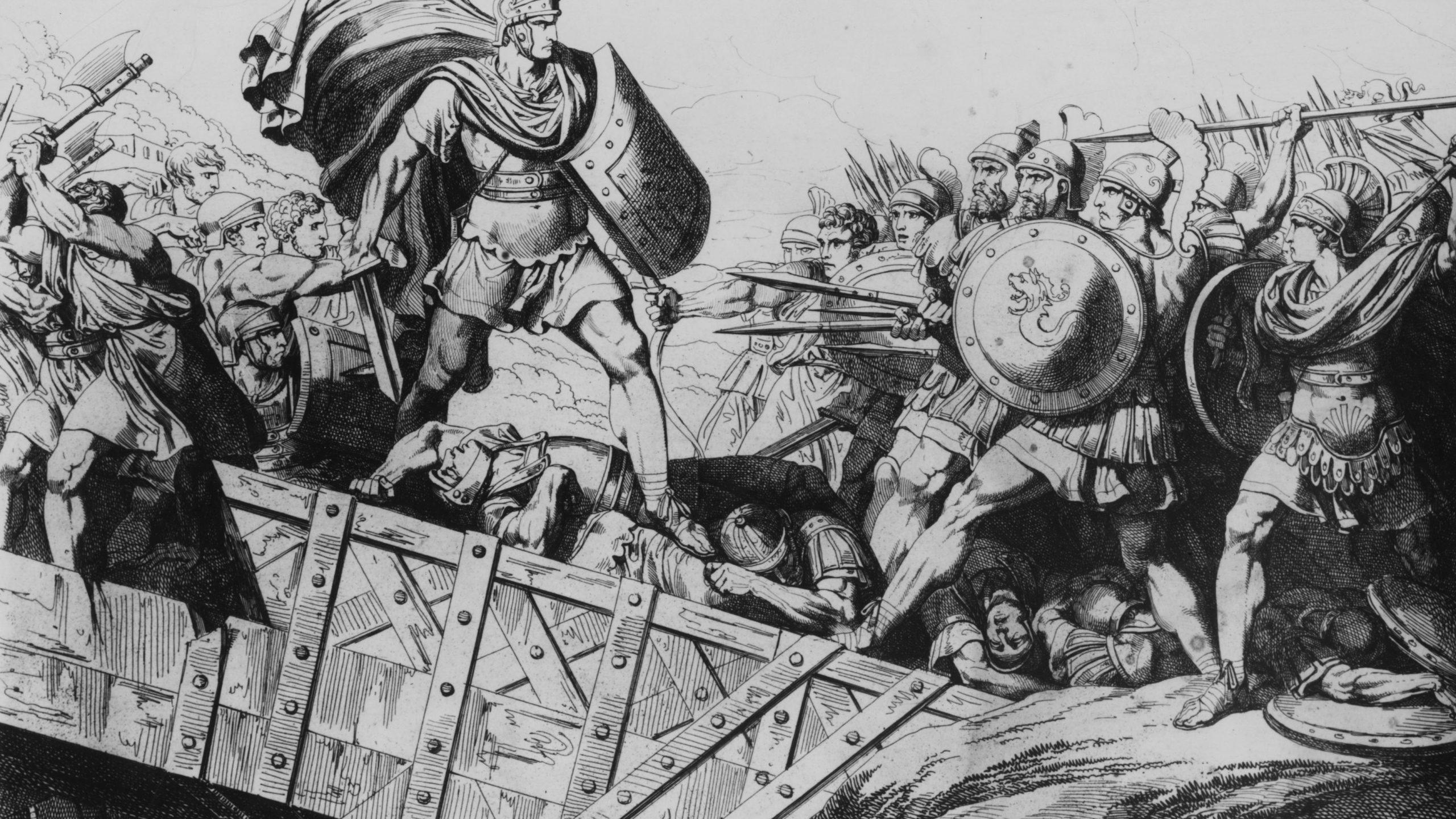 Horatius at the Bridge: Man or Myth?