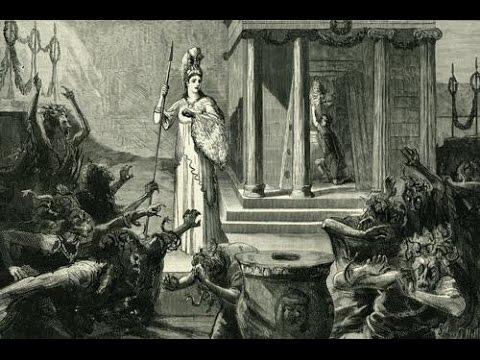 Athena in the Eumenides