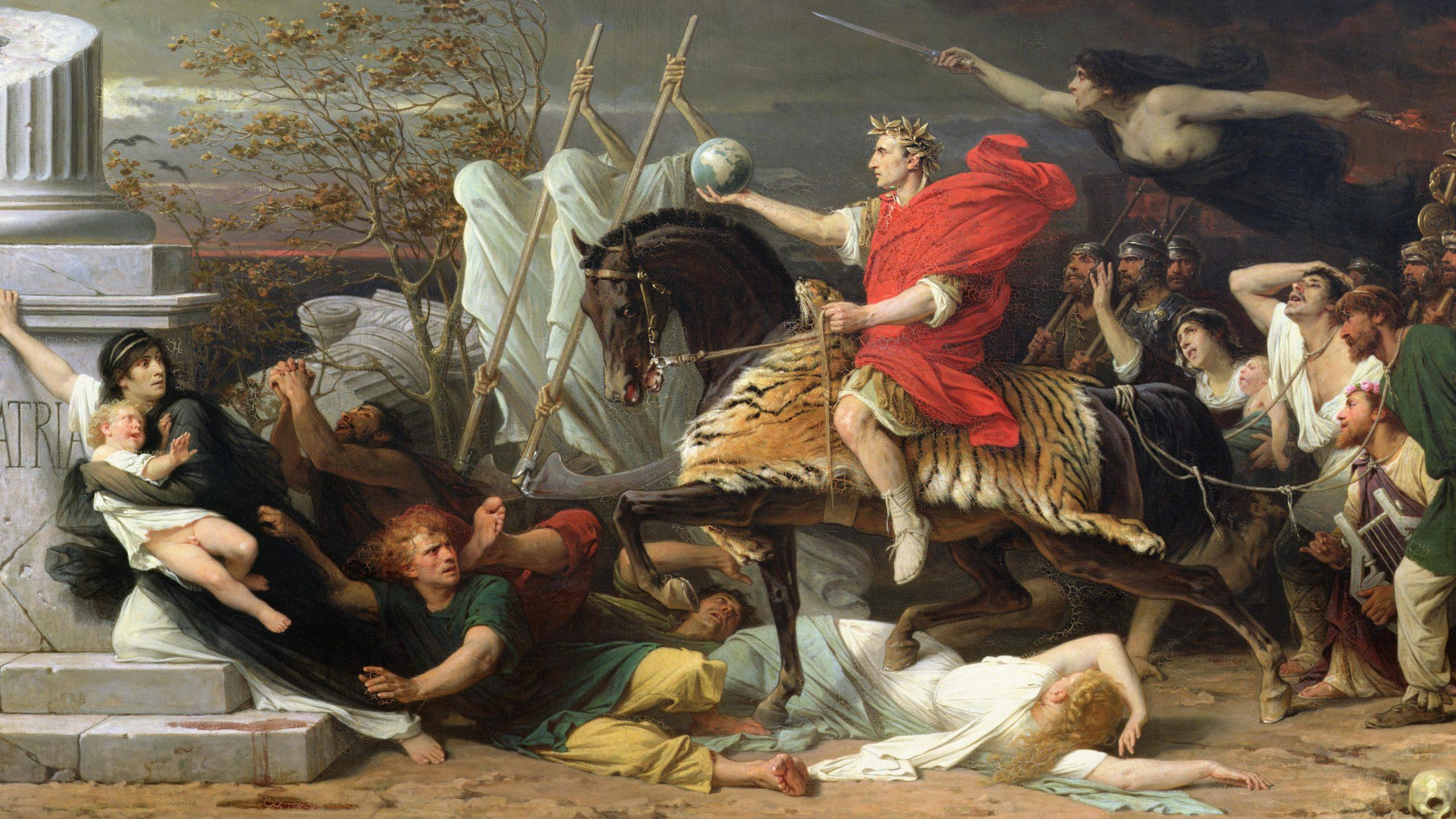 The Pharsalia by Lucan: Epic Poem on the Roman Civil War