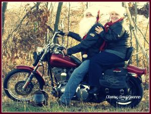 Mr and Mrs Claus Bike