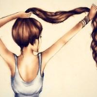 Para ter cabelos de Rapunzel