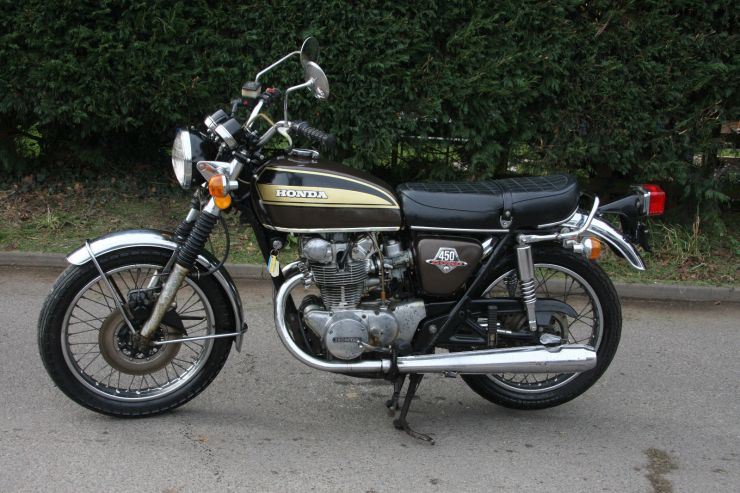 Honda CB450 CB 450 BARN FIND Restoration Project FOR SALE 8