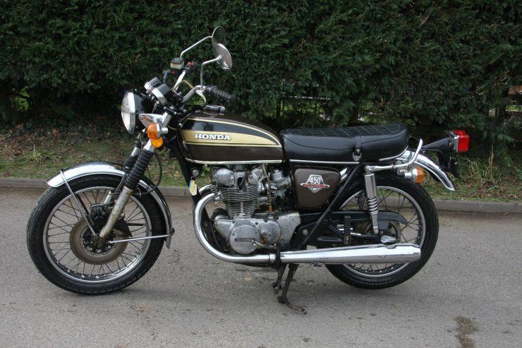 Honda CB450 CB 450 BARN FIND Restoration Project FOR SALE 8