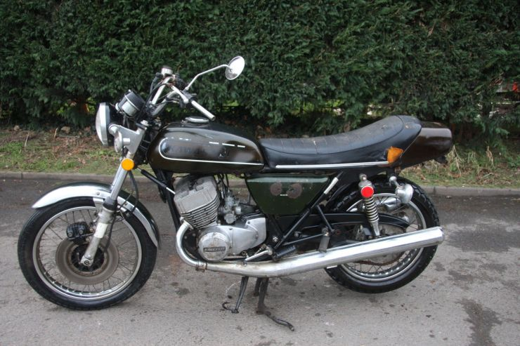 Kawasaki H2 B H 2 B 1974 For Sale 6