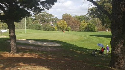 8th Green Queanbeyan Golf Club