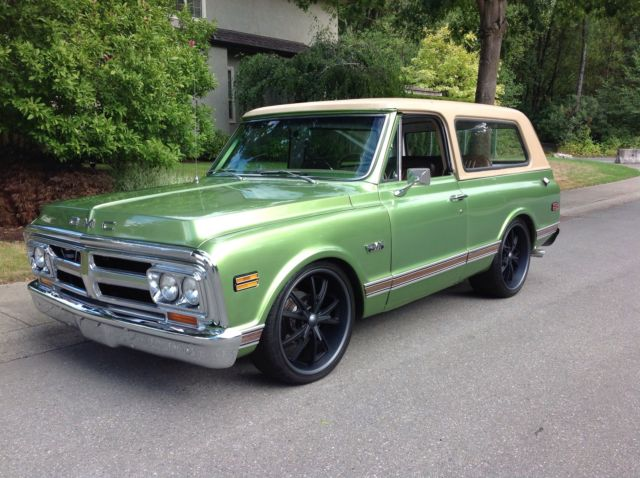 1971 Gmc Jimmy 2wd Custom Original Ultra Rare For Sale