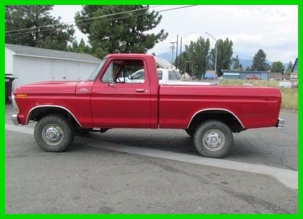 1978 Ford F150 12 Ton 4 Wheel Drive Short Bed Used