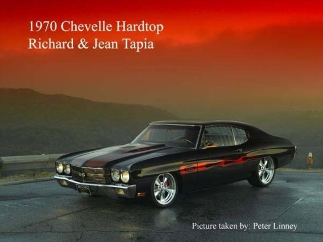 70 Chevy Chevelle SS LT4 350 CID 700R4 Automatic RWD