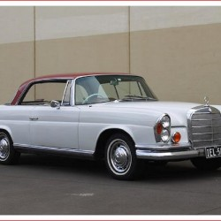 1962 Mercedes Benz 220SE Coupe for sale at Shannons