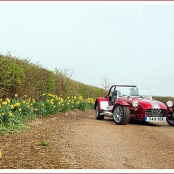 Caterham Cars 40th Limited Edition Pack