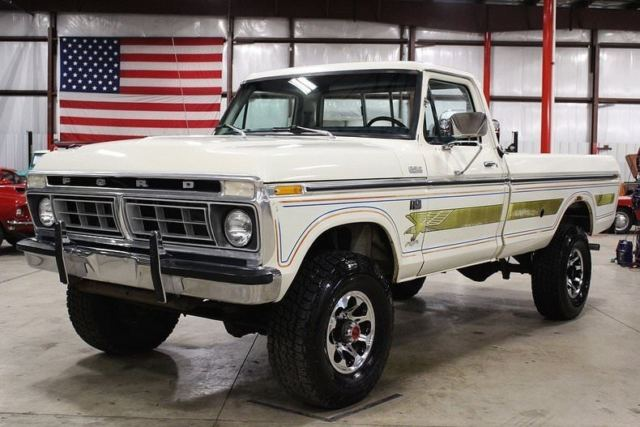 1976 Ford F100 Truck Colors