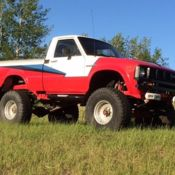 1982 Toyota Pickup Sr5 Hilux 4x4 Long Box Frame Off Restored For