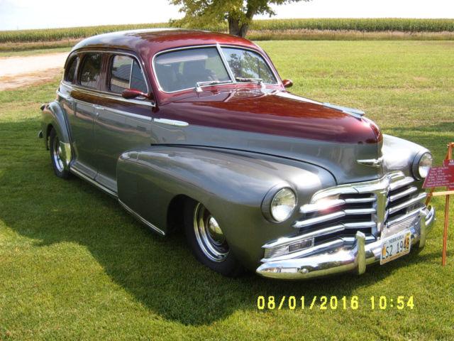 1948 Chevy Stylemaster 4 Dr Custom