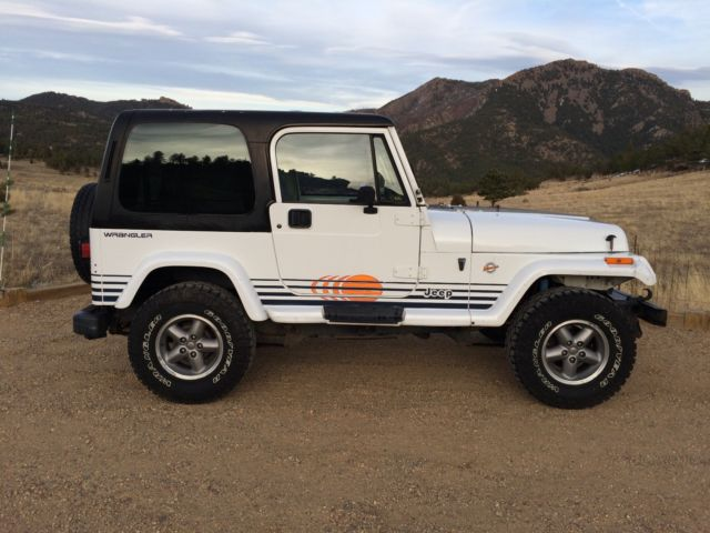 Jeep Wrangler Islander 4 0l 5spd Hardtop 158k Rust