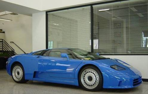 Bugatti EB110GT Super Sports Car