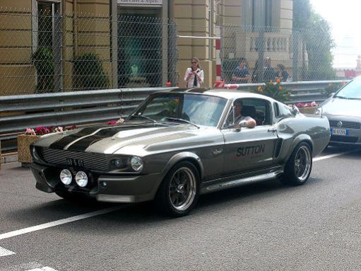 GT500 Eleanor: Muscle Cars: Cars With An Attitude
