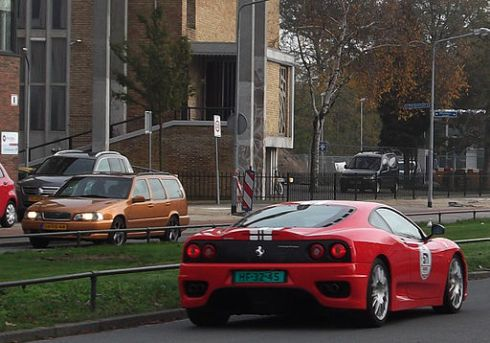 Ferrari 360 Sports Car