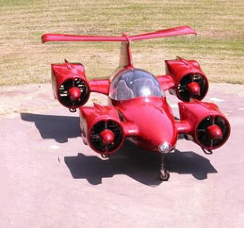 Flying Cars: Moller Skycar M400