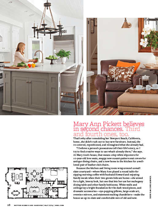 Our Kitchen in Better Homes and Gardens