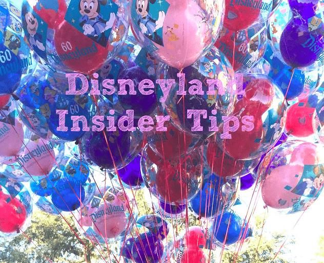 Tips for Disneyland